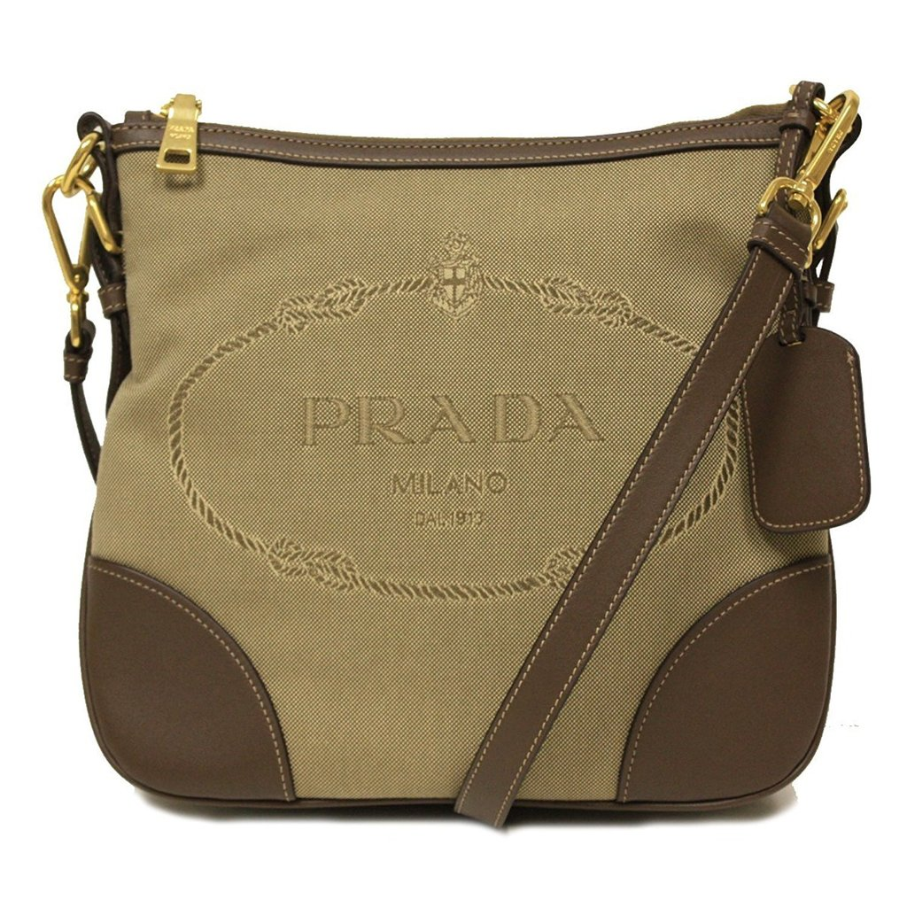 d687d91e94697d Sale! Home / Sale / Men / Prada Brown Logo Jacquard Messenger Bag