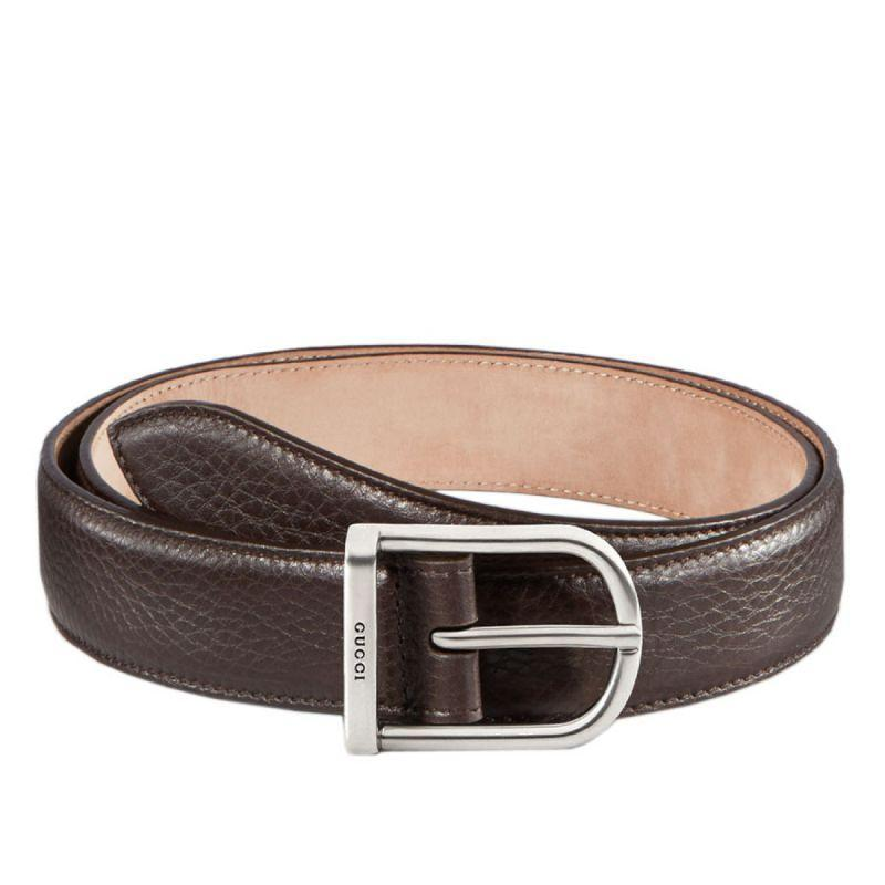 e4cf71dd108 Gucci Men s Brown Leather Belt Size 44 – Luxury Krush