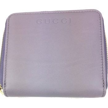06f28d5eb106 Gucci Women's Soft Calf Leather French Flap Wallet Light Purple